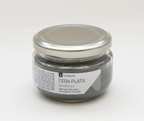 LA PAJARITA ezüst metál wax