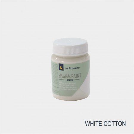 LA PAJARITA White Cotton, pamut színű krétafesték