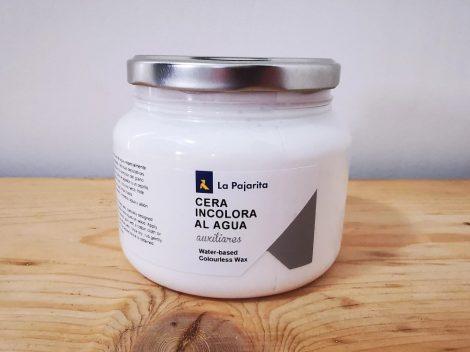 LA PAJARITA vízbázisú színtelen wax (500 ml)