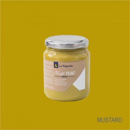LA PAJARITA Mustard matt festék