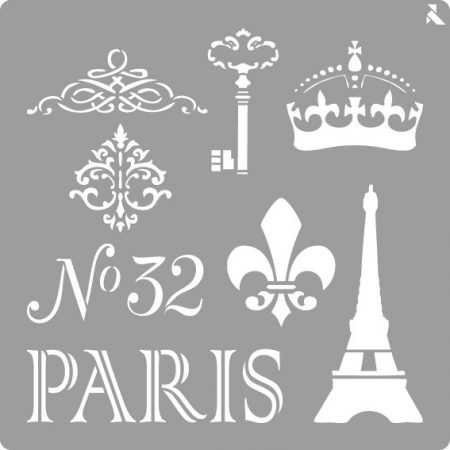 LA PAJARITA Paris stencil