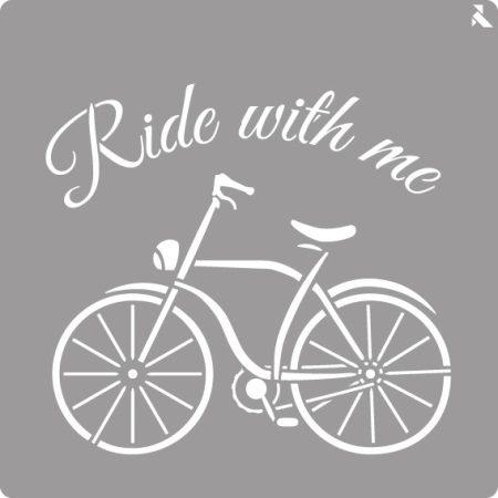 LA PAJARITA Bicikli stencil