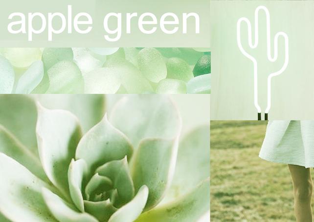 Apple Green - Zöldalma krétafesték inspiráció