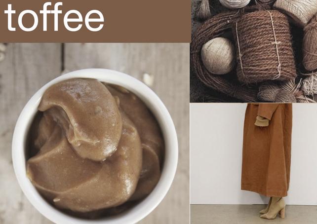 Toffee - Karamell krétafesték inspiráció