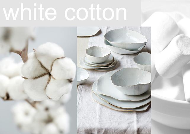 White Cotton - Pamut krétafesték inspiráció